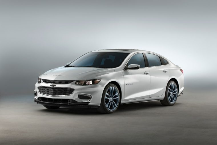 The Chevy Malibu Blue Line concept