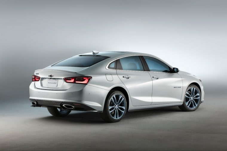 The Chevy Malibu Blue Line concept rear