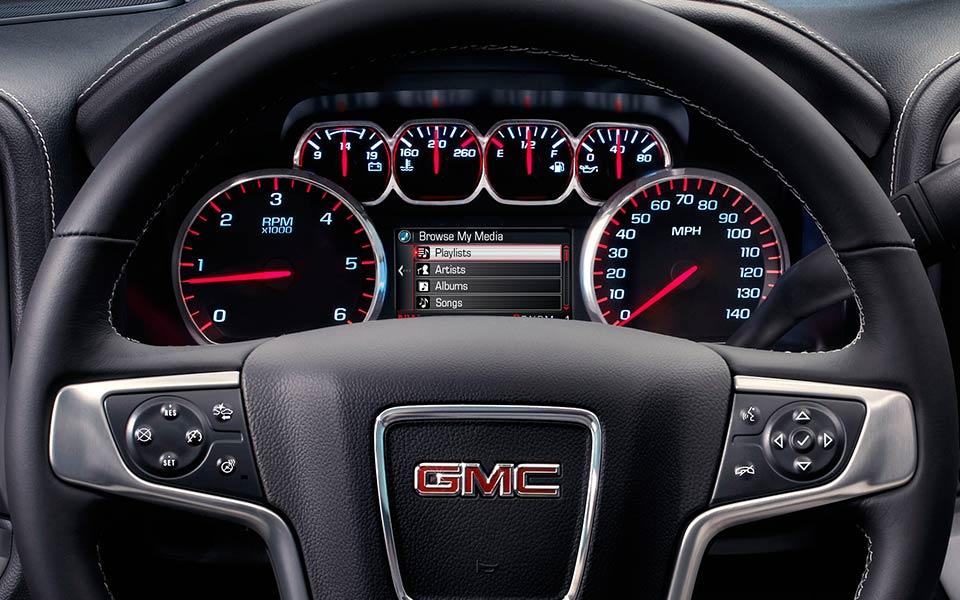 2017-gmc-sierra-steering-wheel | The News Wheel