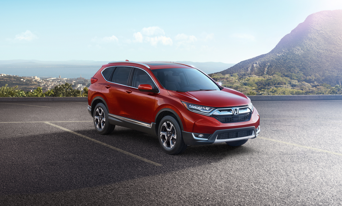 honda unveils 2017 honda cr v with new features and turbo engine the news wheel. Black Bedroom Furniture Sets. Home Design Ideas