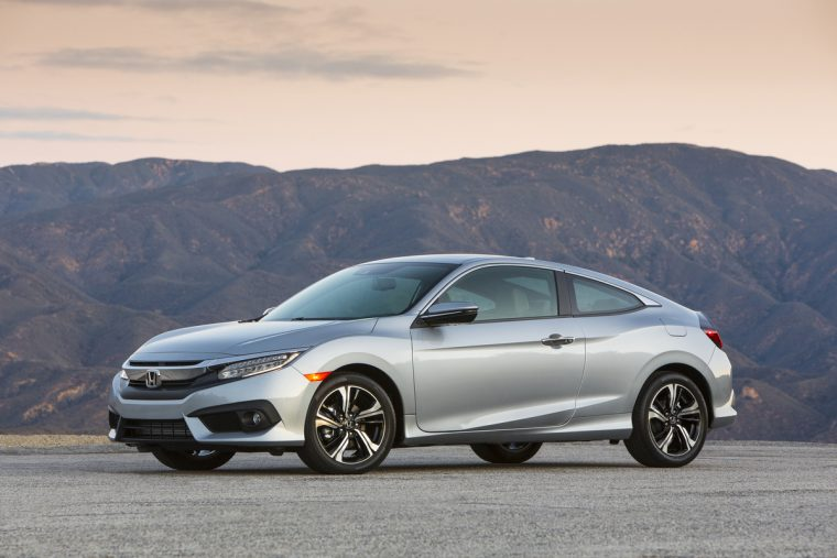 2017 Civic Sedan and Coupe Turbocharged and Paired with 6-Speed Manual ...
