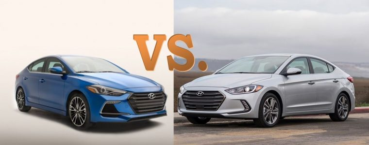 2017 Hyundai Elantra vs. Elantra Sport Differences comparison