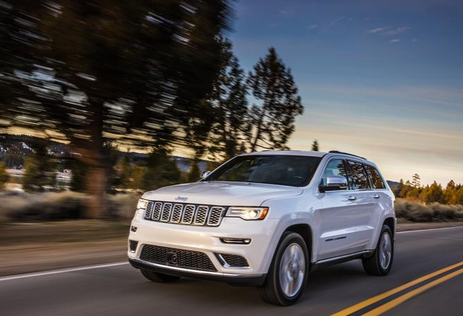 2017 Jeep Grand Cherokee Front