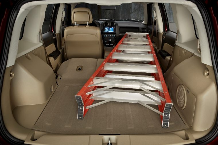 2017 Jeep Patriot Cargo