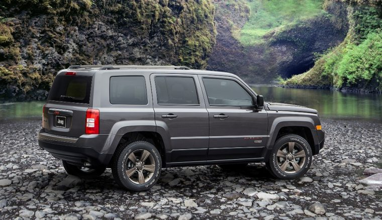 2017 Jeep Patriot Silhouette