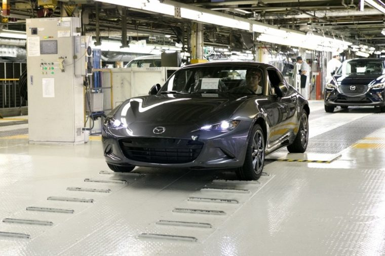 2017 MX-5 Miata RF factory production