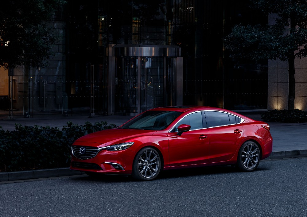 2017 mazda6 sedan the news wheel. Black Bedroom Furniture Sets. Home Design Ideas