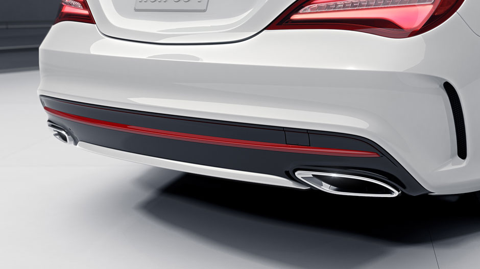 Mercedes Amg Coupe 2017 >> 2017 mercedes-benz cla coupe dual exhaust | The News Wheel