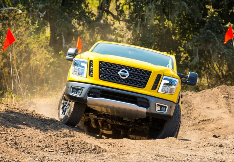 The 2017 Nissan Titan features a starting MSRP of $34,780
