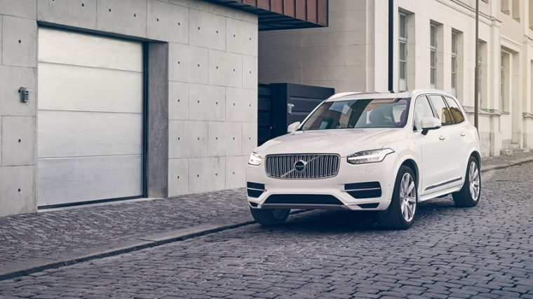 The 2017 Volvo XC90 comes standard with a four-cylinder motor, which is both supercharged and turbocharged