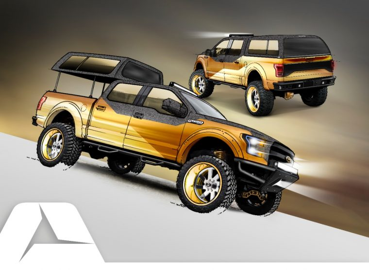 A.R.E. Accessories 2016 Gold Standard Ford F-150 Project Truck SEMA