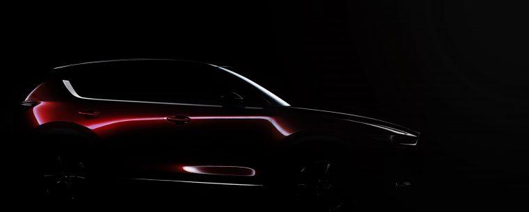 2017 Mazda CX-5 teaser