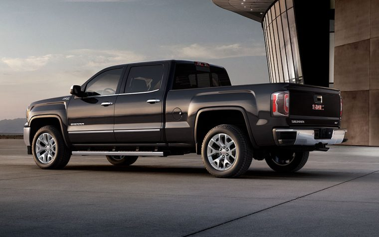 The 2017 GMC Sierra can tow more than 10,000 pounds and offers more sophistication than any other truck