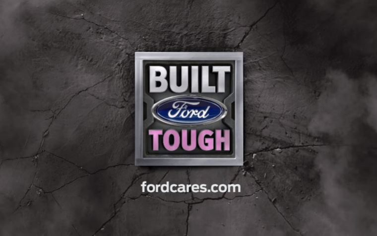 Built Ford Tough Ford Warriors in Pink