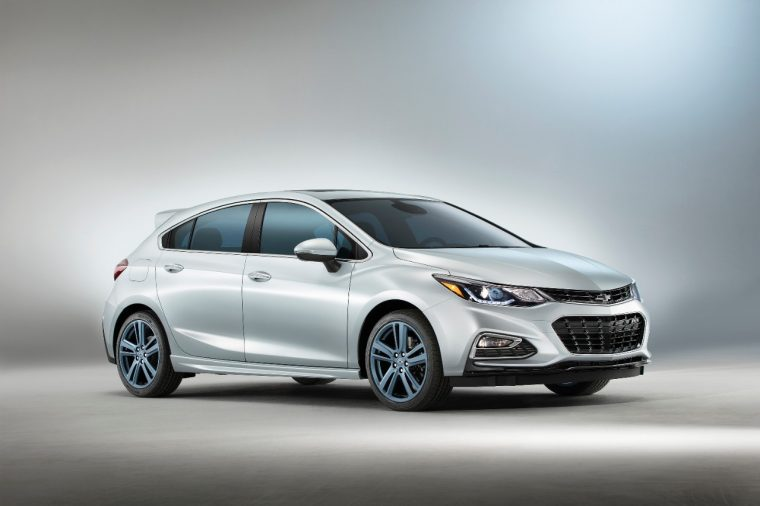 Chevy Cruze RS Hatch Blue Line concept