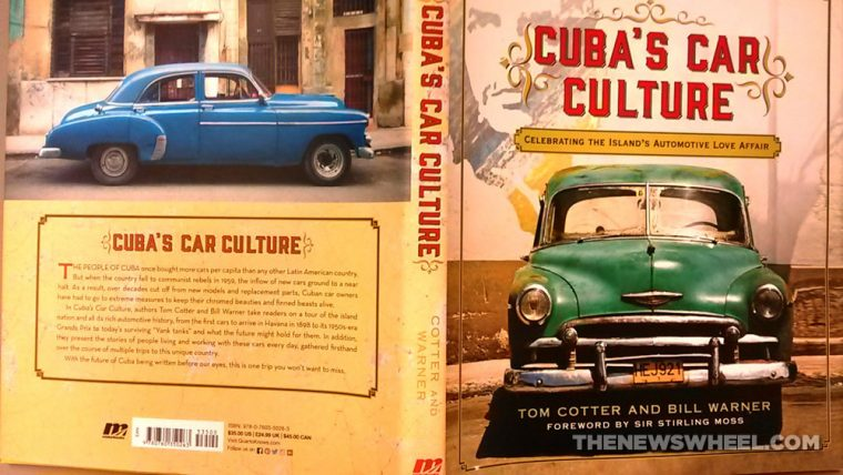 Cuba's Car Culture book review Motorbooks Tom Cotter Bill Warner cover