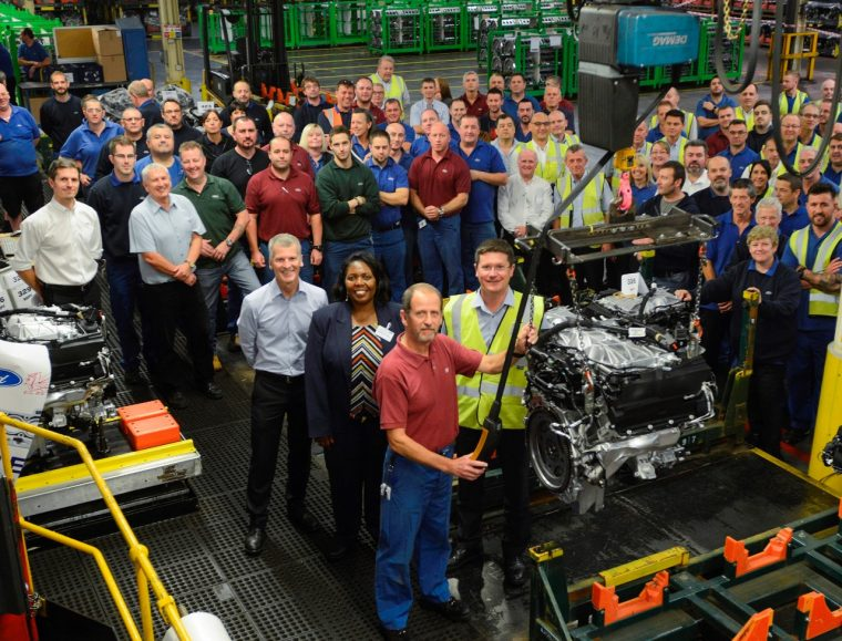 Ford Bridgend Engine Plant builds 20 millionth engine