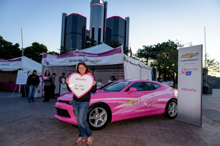 GM and Chevy sponsor Making Strides Against Breast Cancer walks