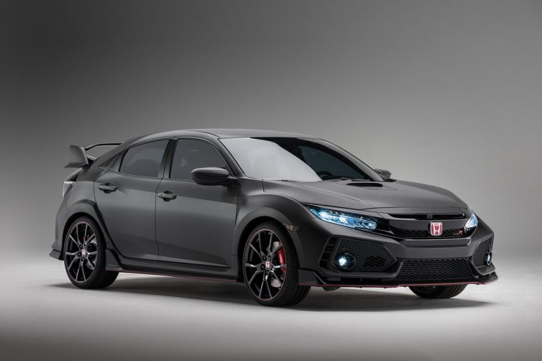 The Honda Civic Type R prototype