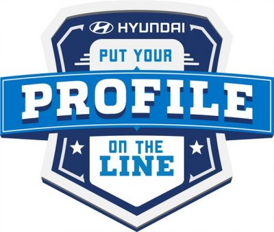 Hyundai Facebook Profile Football NFL program competition logo