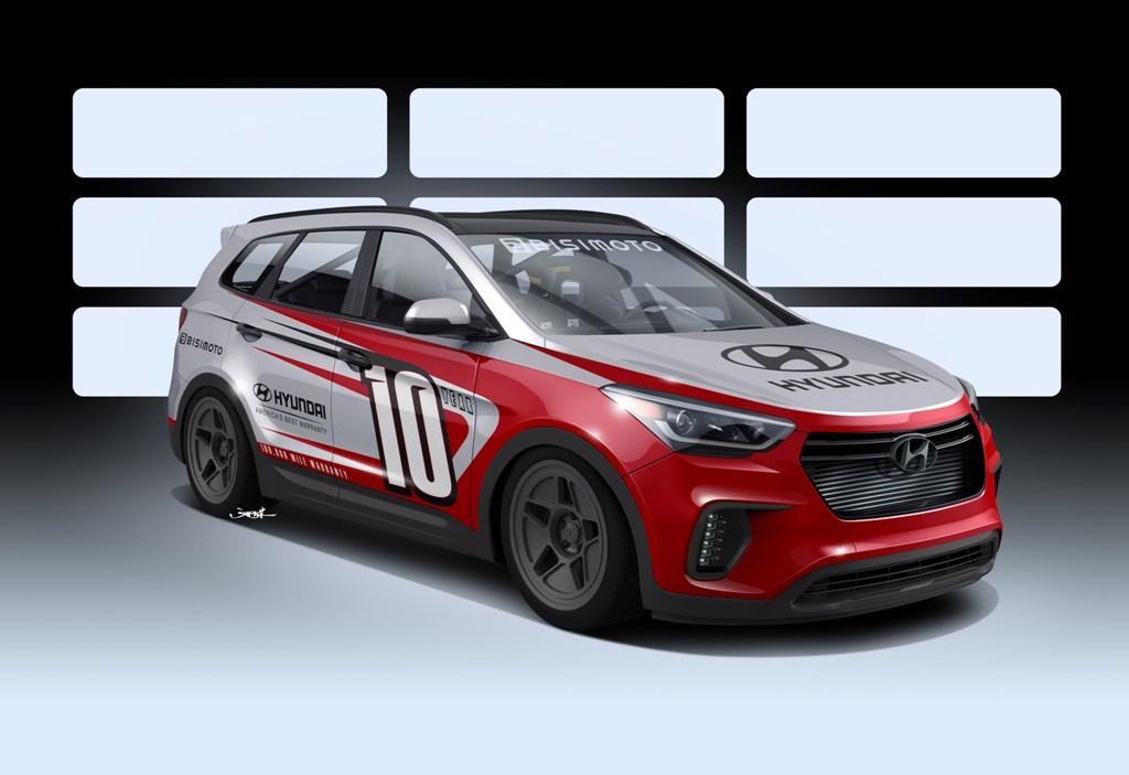 2016 Hyundai Santa Fe >> Hyundai Santa Fe Bismoto SEMA custom SUV | The News Wheel
