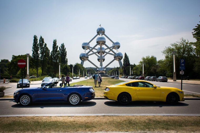 The Ford Mustang at The Atomium
