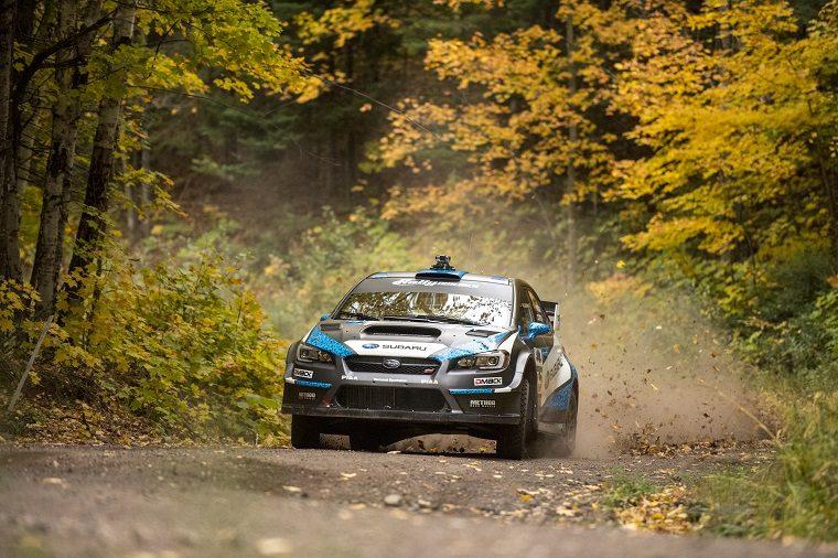 Subaru at 2016 Lake Super Performance Rally