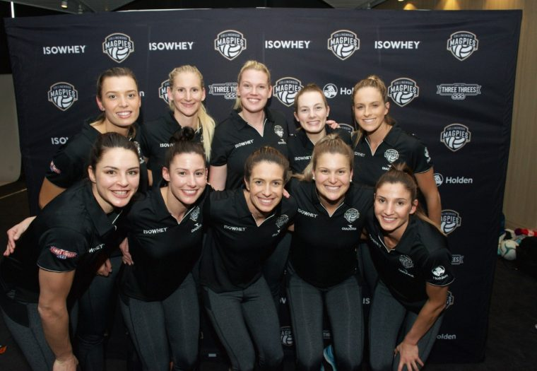 Collingwood Magpies Netball Team