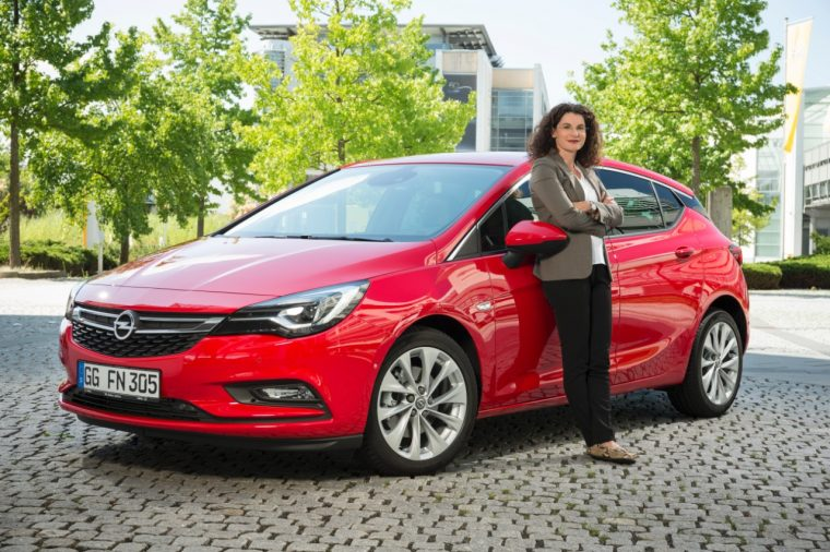 Opel Chief Marketing Officer Tina Müller