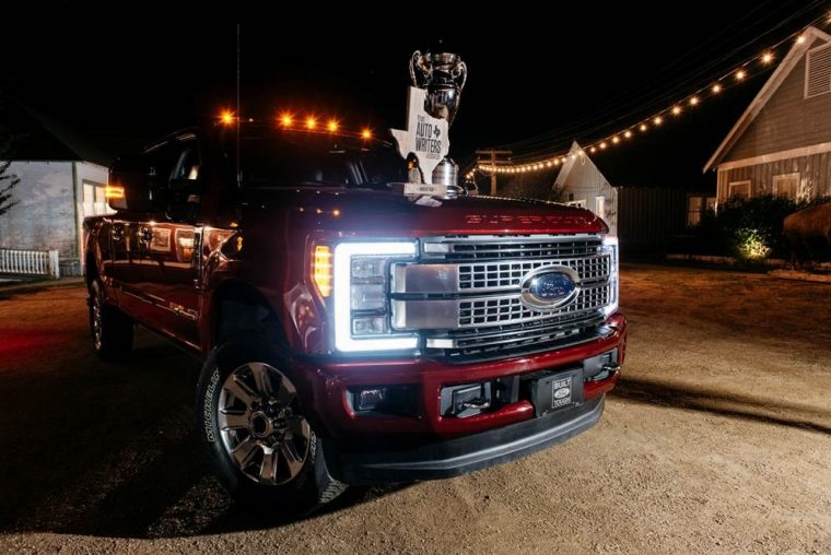 2017 Ford F-Series Super Duty wins Truck of Texas