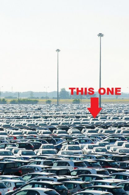 car lot specification