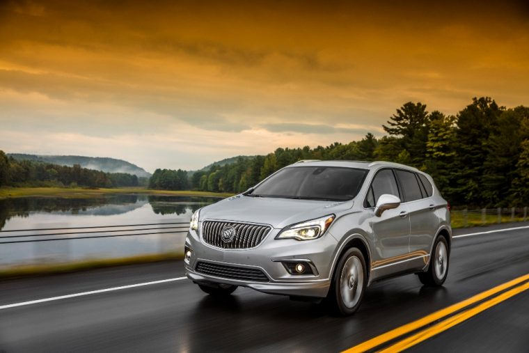 The 2017 Buick Envision is one of only a few 2017 model year vehicles to have earned an IIHS Top Safety Pick+ rating