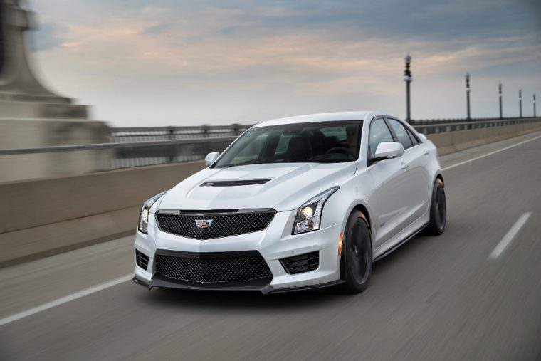 The 2017 Cadillac ATS-V is offered with an all-new Carbon Black package and its CUE infotainment has been updated