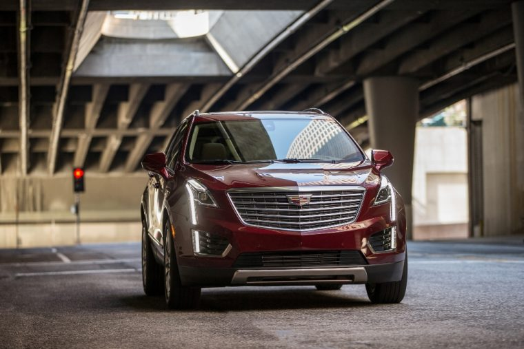 The 2017 Cadillac XT5 is one of only a few 2017 model year vehicles to have earned an IIHS Top Safety Pick+ rating