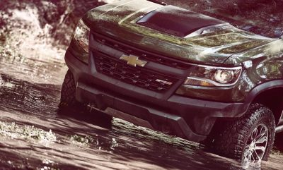The Chevrolet Colorado ZR2 off-road truck will go on sale in spring of 2017