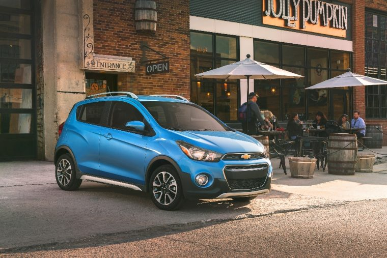 Chevy unleashed the 2017 Spark ACTIV at AutoMobility LA