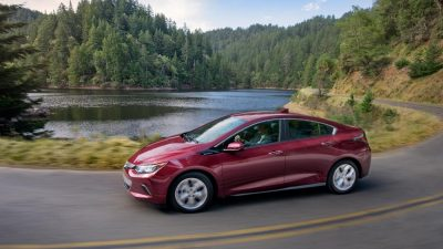 The 2017 Chevy Volt is headed to China as a Buick model