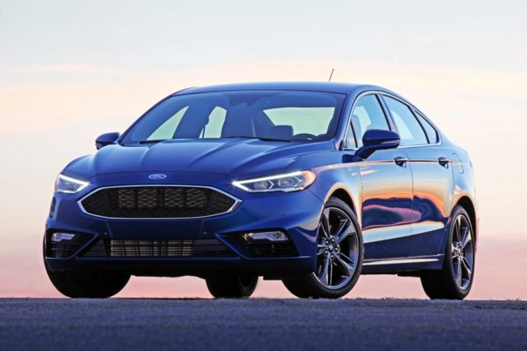 The 2017 Ford Fusion is one of only a few 2017 model year vehicles to have earned an IIHS Top Safety Pick+ rating