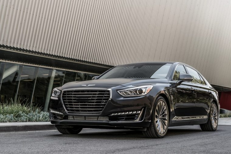 The Genesis G90 has been nominated for the 2017 North American Car of the Year award