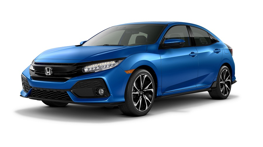 2017 honda civic touring hatchback blue the news wheel