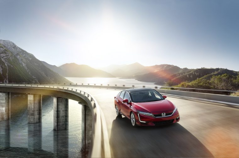 Honda Clarity Fuel Cell sedan to lease in California