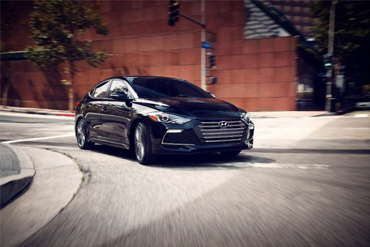 The 2017 Hyundai Elantra is one of only a few 2017 model year vehicles to have earned an IIHS Top Safety Pick+ rating