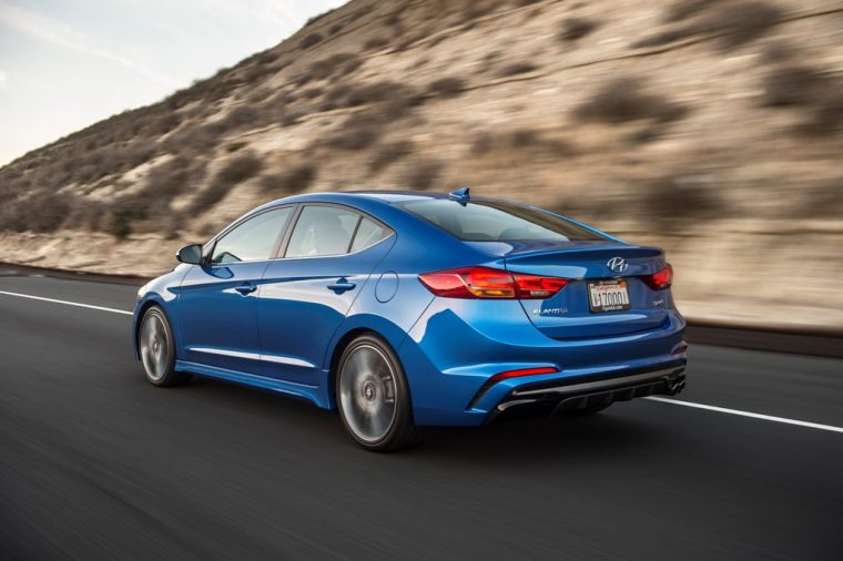 2017 Hyundia Elantra Sport pricing announcement performance upgrades