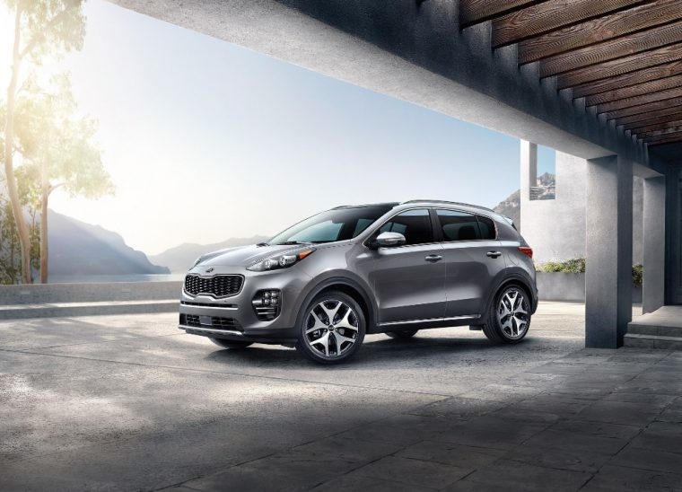The 2017 Kia Sportage is one of only a few 2017 model year vehicles to have earned an IIHS Top Safety Pick+ rating