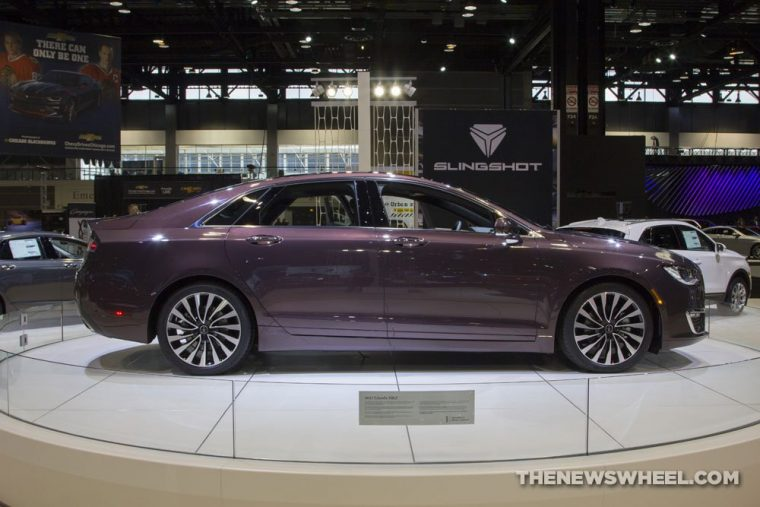 The 2017 Lincoln MKZ is one of only a few 2017 model year vehicles to have earned an IIHS Top Safety Pick+ rating