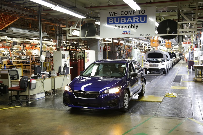 Subaru of Indiana Plant