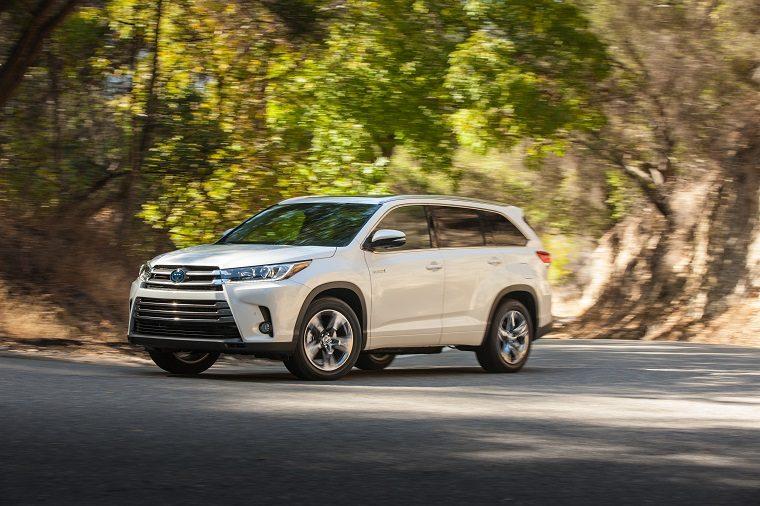 2017 Toyota Highlander Limited Platinum Hybrid