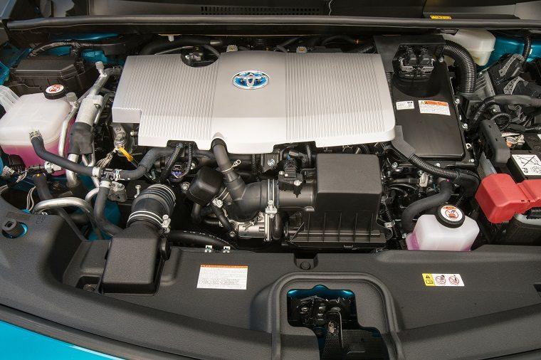 2017 Toyota Prius Prime engine