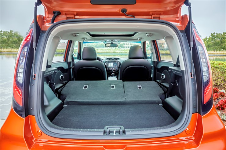 There's plenty of space in the 2017 Soul Turbo.