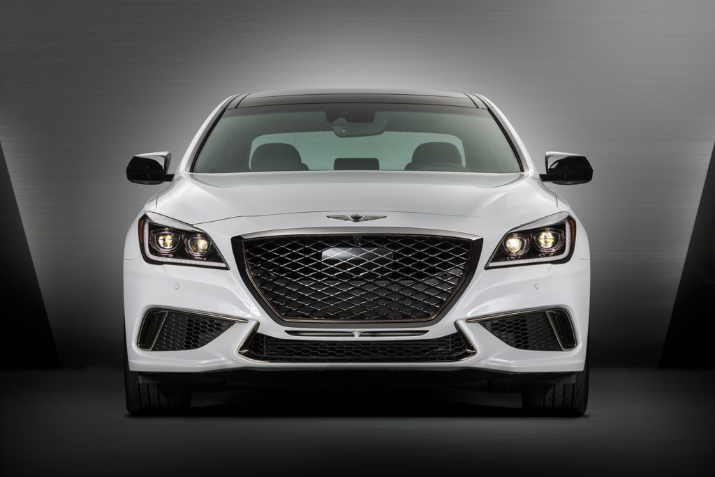 2018 Genesis G80 Sport Specifications Features Revealed At La Auto Show The News Wheel